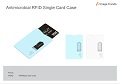 IV-11 Antimicrobial RFID Single Card Case