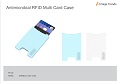 IV-12 Antimicrobial RFID Multi Card Case