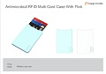 IV-13 Antimicrobial RFID Multi Card Case with Flick